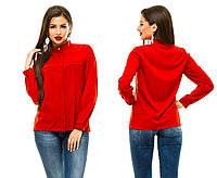 Женская блузка 243 красная СП