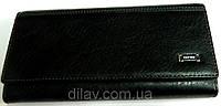 Кошелек женский черный сделанный из искусственной кожи 3069
