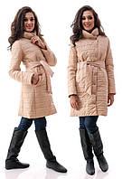 Женское стеганное пальто  88000010
