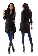 Легкое пальто с капюшоном 880019