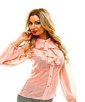 Женская блузка с жабо 88048