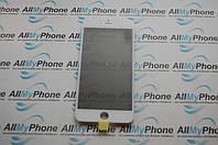Стекло корпуса для Apple iPhone 6S Plus  с рамкой / OCA пленкой / поляризационной пленкой / белое
