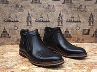 Ботинки мужские Cevivo 5555 натуральная кожа качественные