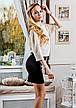 """Короткое женское коктейльное платье """"Уголок"""" в расцветках, фото 3"""