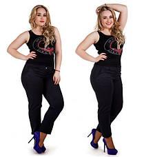 """Женские стильные классические брюки до больших размеров """"Тиар"""", фото 2"""