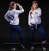 """Женский стильный спортивный костюм в больших размерах """"BMW"""" в расцветках"""