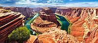 """Кастор пазлы 600 """"Горный каньон, Аризона""""68*30 /14/"""