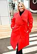"""Элегантный женский кардиган в больших размерах 951 """"Кашемир Углы"""" в расцветках, фото 3"""