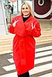 """Элегантный женский кардиган в больших размерах 951 """"Кашемир Углы"""" в расцветках, фото 4"""