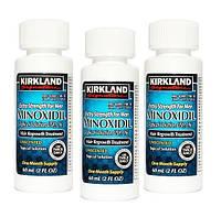 Миноксидил Киркланд Minoxidil Kirkland 5% 3 флакона