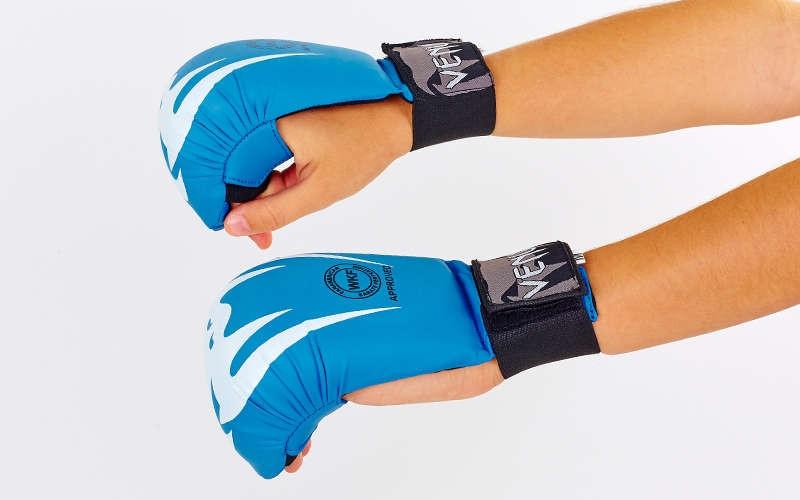 Перчатки для каратэ VENUM GIANT  Синий, S - ADX.IN.UA в Одессе