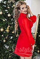 """Завораживающей красоты нарядное платье с длинным рукавом """"Kakvskazke"""" 2P/NR-1352"""