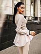 """Элегантный женский брючный костюм 0072 """"Баска Ангора Гипюр"""" в расцветках, фото 4"""