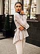 """Элегантный женский брючный костюм 0072 """"Баска Ангора Гипюр"""" в расцветках, фото 5"""