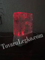 Соляной Кристалл на светодиодах (3,5 кг)