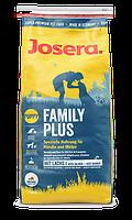 Josera Family Plus - корм для кормящих или беременных сук и прикорма щенков  15 кг