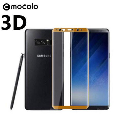 Защитное стекло Mocolo 3D 9H на весь экран для Samsung Galaxy Note 8 золотистый