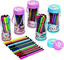 Набір фломастерів в пластиковому колбі Aihao 36 кольорів