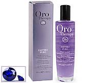 """Жидкие кристаллы """"Сапфир"""" для осветлённых и светлых волос FANOLA Oro Тherapy serum with sapphire 100 мл"""