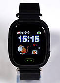 Детские GPS часы Smart baby watch Q90(black)