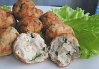 Фрикадельки из трески и картофеля