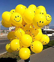 Гелиевые шары с улыбками