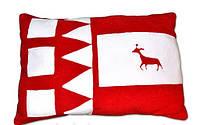 """Уютная декоративная подушка """"Олень"""" из мягкого флиса, наполнитель - синтипон. Любой цвет по Вашему желанию!"""