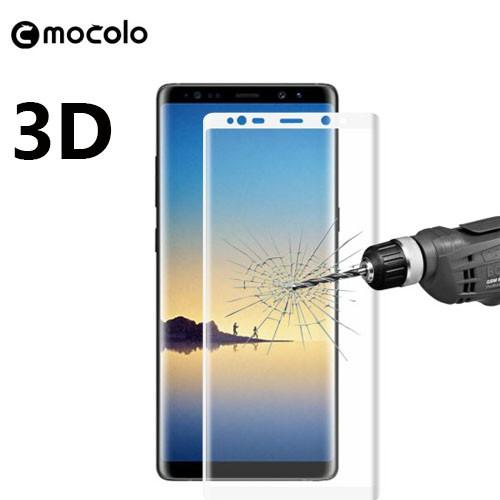 Защитное стекло Mocolo 3D 9H на весь экран для Samsung Galaxy Note 8 белый
