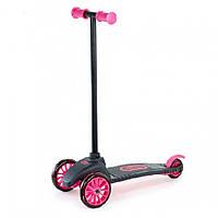 Самокат трехколесный чёрный с розовым цвет - Little Tikes - США - ударопрочный пластик, металл