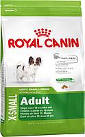 Корм для собак мини-пород Royal Canin X-Small Adult