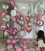 Фольгированые шары на день рожденье, фото 1