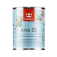 Tikkurila Kiva 50, Кива лак полуглянцевый 0,9л