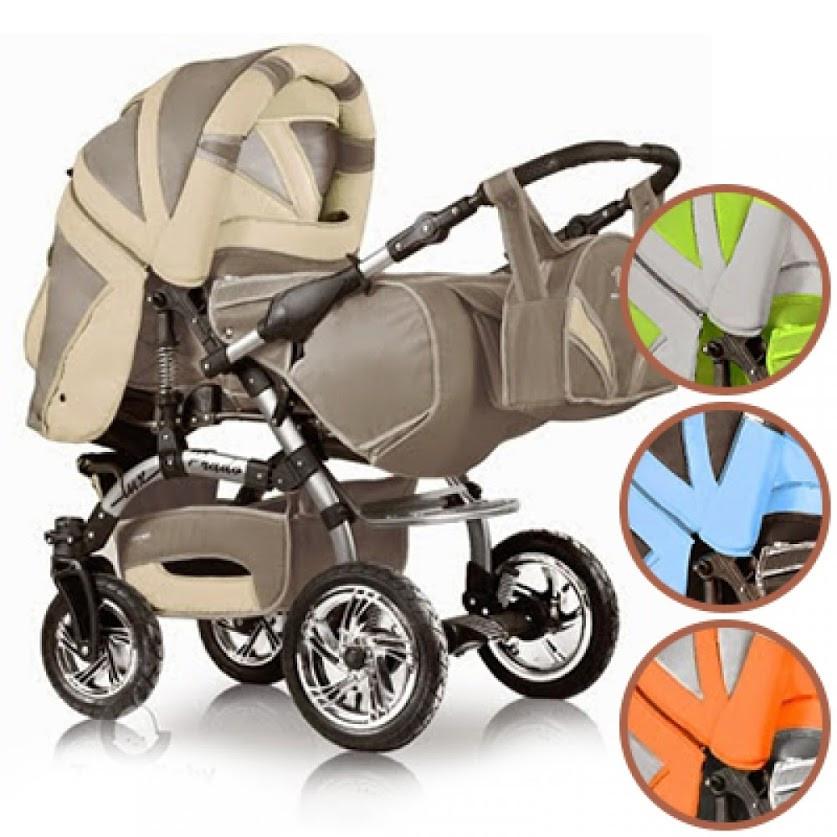 Детская коляска трансформер Trans baby Prado Lux