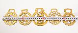 Латунні медальйони для кінської збруї, вінтаж, латунь, Англія, фото 4