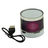 Супер цена Портативная колонка  SPS S10 с bluetooth и LED подсветкой