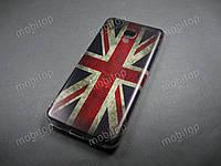 Силиконовый TPU чехол Meizu M5c (British Flag)