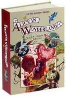 """Книга-сейф с настоящими бумажными страницами """"Алиса в стране чудес""""."""
