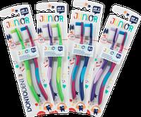 Зубная щетка Dontodent  Junior для детей от 6 лет, 2 шт