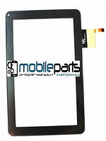 """Оригинальный Сенсор (Тачскрин) для планшета 9"""" ViewSonic 70D (12 pin, 233*141 mm) (Черный-Самоклейка)"""