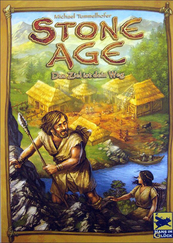 Настольная игра Stone Age (Каменный Век, 100000 лет до нашей эры)