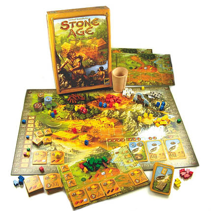 Настольная игра Stone Age (Каменный Век, 100000 лет до нашей эры), фото 2