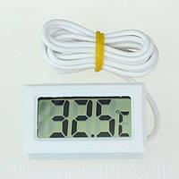 Цифровой термометр TPM-10 белый с выносным датчиком