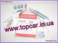 Р/к барабанних торм, колодок Renault Megane I Quick Brake Дания QB105-0757