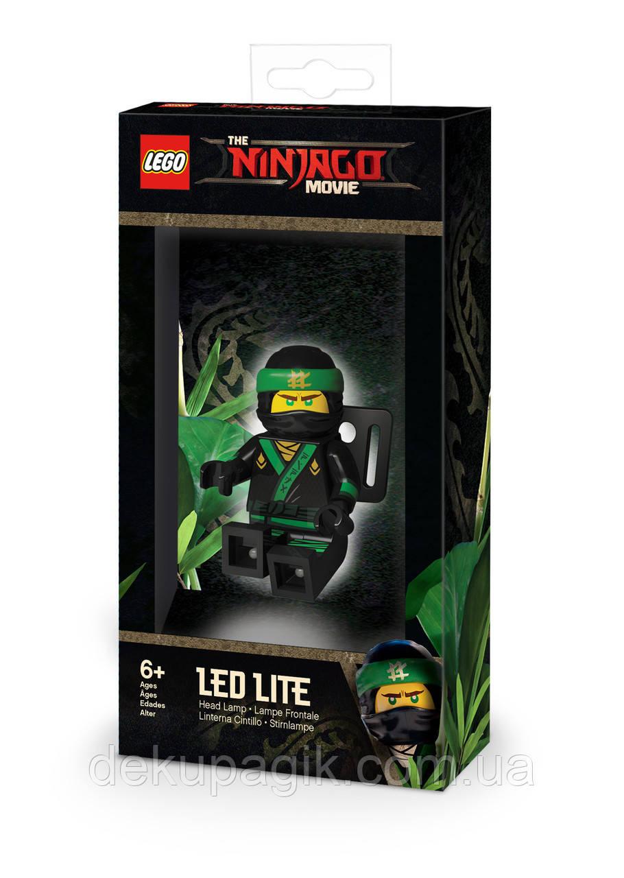 Лего фонарик Ниндзяго Муви Ллойд налобный LGL-HE24