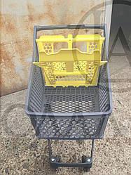 Пластиковая тележка на 100 литров