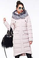 Красивеное стеганное пальто
