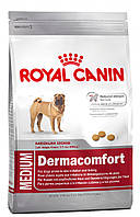 Корм для собак средних пород с чувствительной кожей Royal Canin Medium Dermacomfort