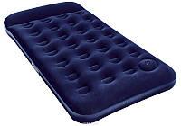 Односпальный надувной матрас Bestway + встроенный ножной насос 188х99х28 см   (67224)