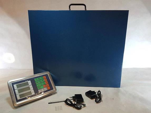 Беспроводные электронные платформенные весы до 300 кг с Wifi торговые весы , фото 2