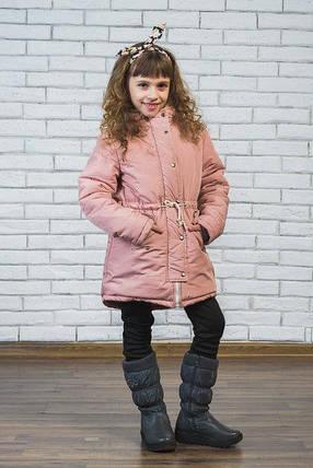 Куртка-парка для девочки, фото 2